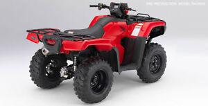 2017 Honda TRX 500 FE - electric shift $7899.00 save $2000.00