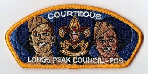 Boy Scouts Longs Peak Council FOS COURTEOUS CSP/SAP