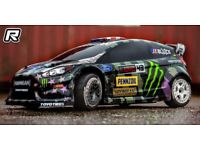 Hpi wr8 ken block fiesta WANTED any body style any condition full working or rolling chassis