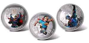 2015 Superman Coin Set