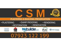 CSM Plastering & Building Preservation