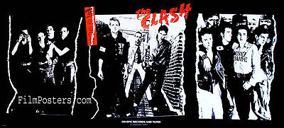 THE CLASH JOE STRUMMER PUNK ROCK VINTAGE 1979 DEBUT ALBUM PROMO POSTER