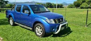 2012 Nissan Navara D40 MY12 ST-X (4x4) Blue Automatic Dual Cab Pick-up Bungalow Cairns City Preview