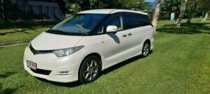 2007 Toyota Estima White Automatic Wagon Bungalow Cairns City Preview