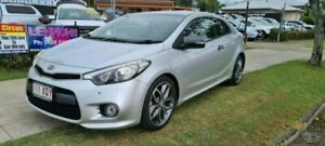 2013 Kia Cerato YD MY14 Koup Turbo Silver 6 Speed Manual Coupe Bungalow Cairns City Preview