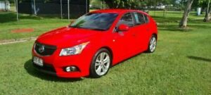 2013 Holden Cruze JH MY14 SRi V Red 6 Speed Manual Hatchback Bungalow Cairns City Preview