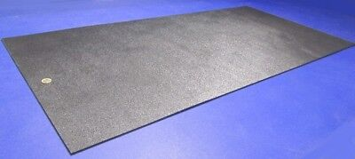 Black Abs Sheet 316 .187 X 24 X 48 Haircell Textured One Side