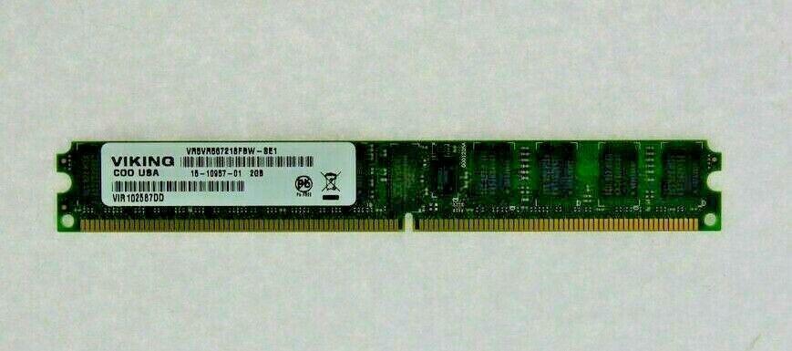 VIKING VR5VR567218FBW-SF 15-10957-01 Cisco DDR2-2GB-PC5300 ECC-REG Memory USED