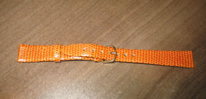 New Old Stock 14mm Genuine Leather Watch Band Half Price