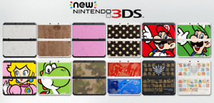 Looking for 2 NEW 3ds Reguar Size (FacePlates)