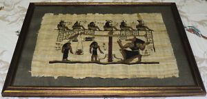 Antique Egyptian paintings