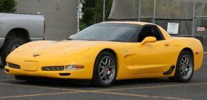 2002 Chevrolet Corvette zo6 cuir Coupé (2 portes)