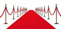 Red Carpet & Gold Stanchion Sale for Special Events