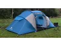 Quechua Alpanaz T4.2 - 2 sleeping compartments, used once.