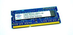 2GB DDR3-1333 204p PC3-10600 CL9 8c 256x8 1Rx8 1.5V SODIMM RFB