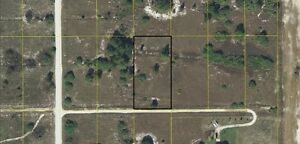1.25 Acres in quiet community east of Fort Myers- priced to sell