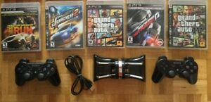 Need for Speed, Chargeur, Manette, Juiced 2, GTA V  etc..