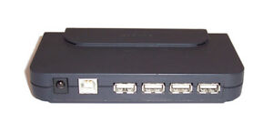 NEW Belkin Hi-Speed USB 2.0 4-Port Hub
