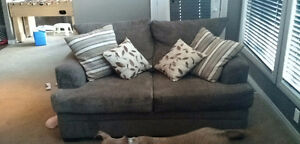Very comfortable Couch, loveseat and ottoman