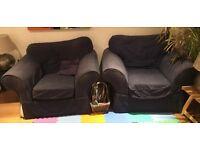 2 x matching Armchairs