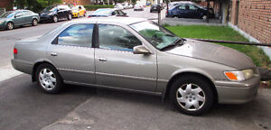 2001 Toyota Camry CE- 193500 km - negotiable