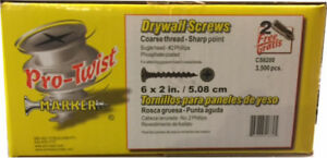 "Pro-Twist 2-1/2"" Coarse Drywall Screws"