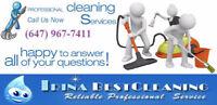 IRINA CLEANING SERVICES ( ETOBICOKE-TORONTO-MISSISSAUGA)