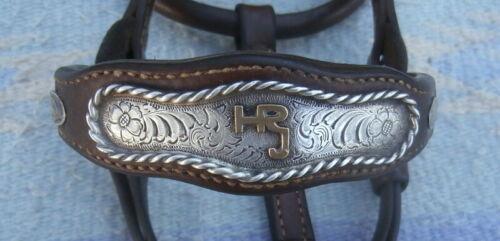 Vintage Sterling Silver Buckle Horse Show Halter Champion Brand