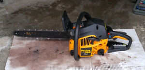 """serviced 35cc Poulan Pro gas chainsaw with 16"""" bar"""