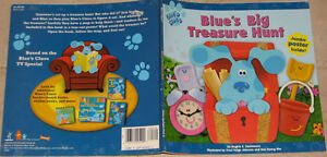 Blue's Clues Big Treasure Hunt Soft Cover London Ontario image 1