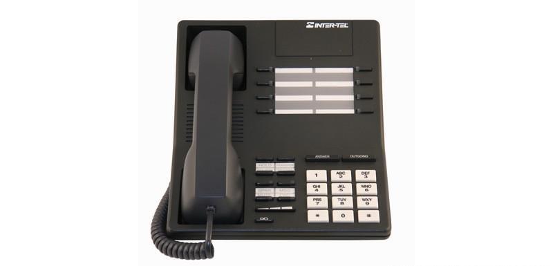 Lot of (5) Fully Refurbished Intertel Axxess 520.4300 Speaker Phone (Charcoal)