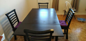 Moving sale !!! 3 pc Sofa set, Dining Table & 4 chairs
