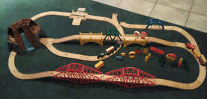 Large Lot of Tracks, Trains, Accessories