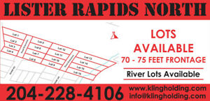 Lots in Lister Rapids, West St. Paul's Premier Subdivision