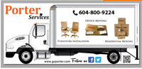Affordable Movers, Furniture assembly, Junk removal, Disposal