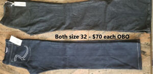 Women's Designer Jeans - Sizes 30 and 32 - $30 to $70 OBO