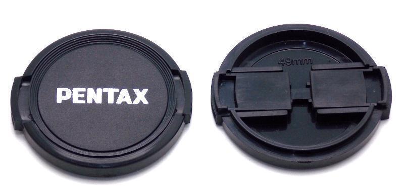 One Pentax 49mm Snap On Front Lens Cap Use on Asahi Takumar Pentax K Mount Lens