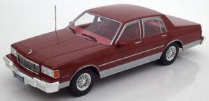 1/18 DIECAST  Chevrolet Caprice Classic Sedan 1985.