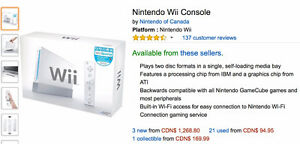 Nintendo Wii Console+ controllers + game sets