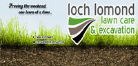 loch lomond lawn care and excavation