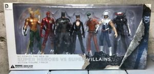 Super Heroes vs Super Villains Action Figures