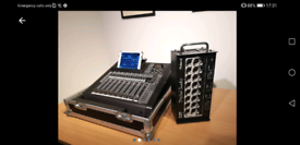 Roland m200i digital Mixing desk/console with s1608 stagebox all cased