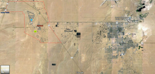 10.1 Acre Lot Inyokern zoned as a MOBILE HOME PARK! near Ridgecrest California