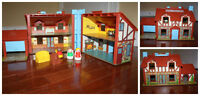 Vintage Fisher Price Tudor House from 1980