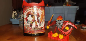 Bionicles from LEGO