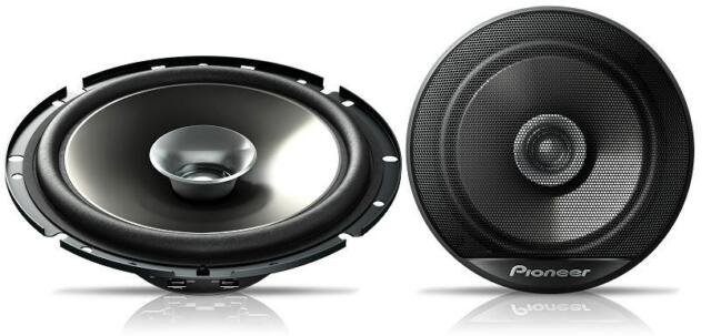 "Pioneer TS-G1721i 17cm 6.5"" dual cone car speakers inc grilles 1 pair 230w max"