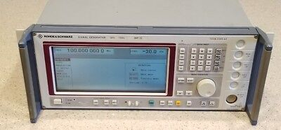 Rohde Schwarz Smt 02 Signal Generator 5khz - 1.5 Ghz