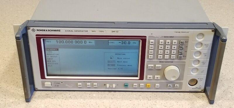 ROHDE & SCHWARZ SMT 02 Signal Generator 5kHz - 1.5 GHz