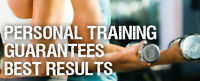 Experienced certified personal trainer