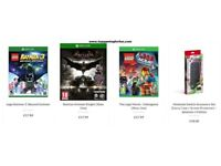 Xbox Games, Playstation Games, Nintendo Games, PC Games, Accessories, Controllers and Consoles